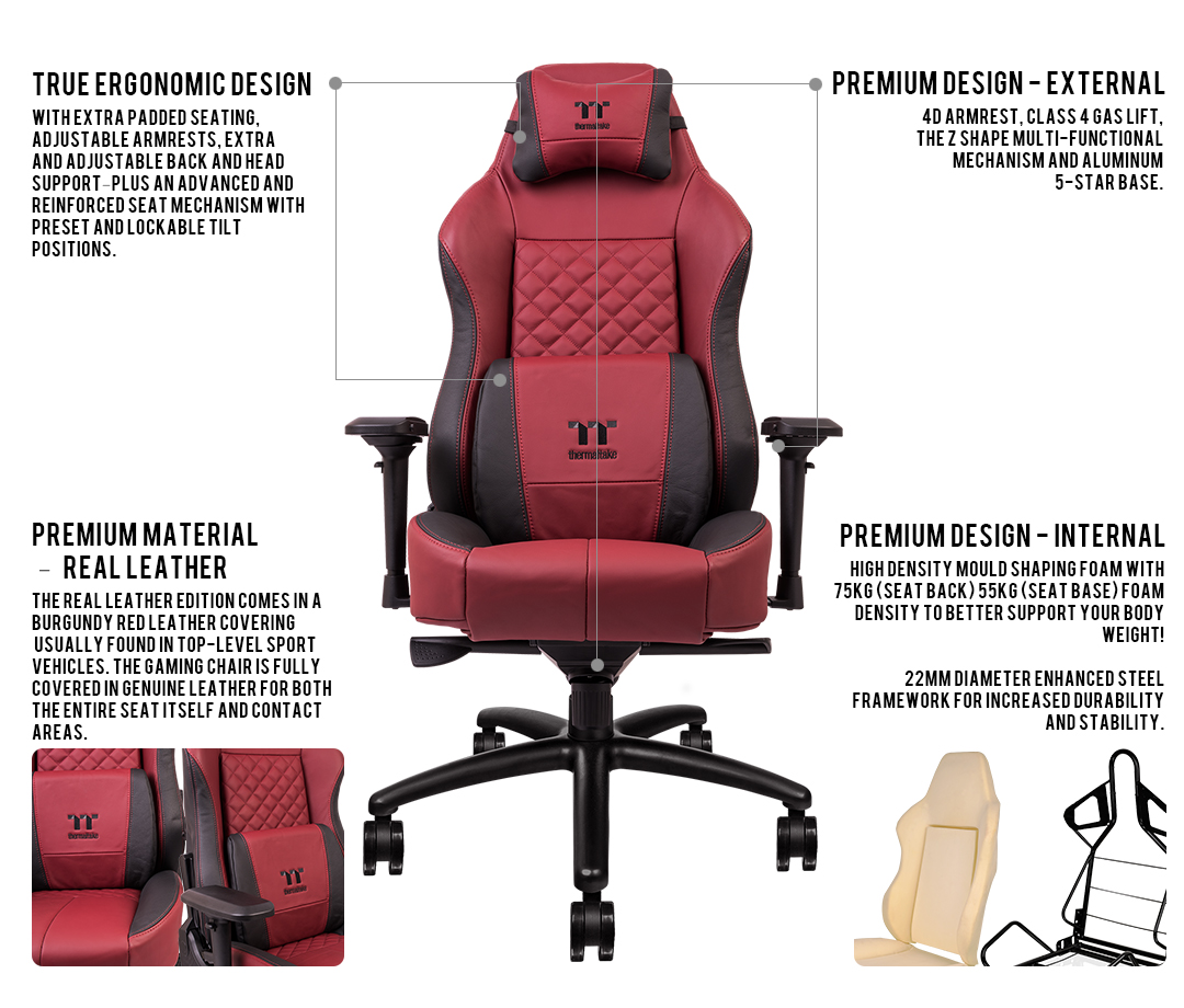 Peachy X Comfort Real Leather Burgundy Red Ncnpc Chair Design For Home Ncnpcorg