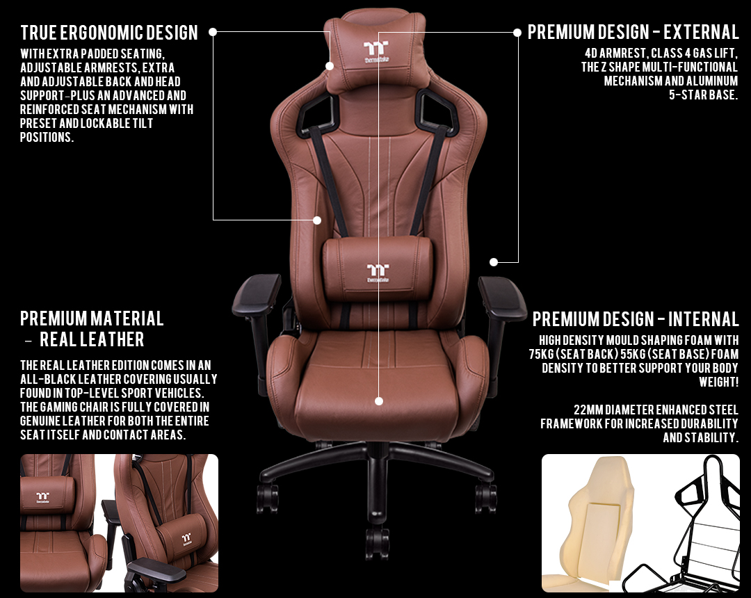 Picture of: X Fit Real Leather