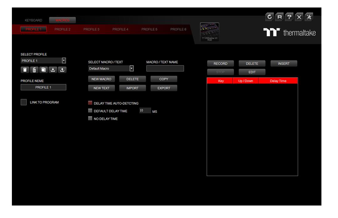 tt premium x1 rgb gaming software